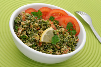 Ideal im Sommer: Tabouleh mit Couscous.