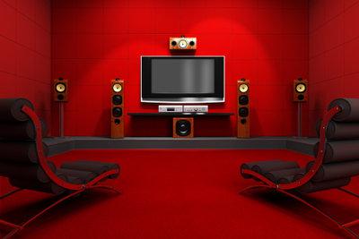 Heimkino und Stereoanlage in einem