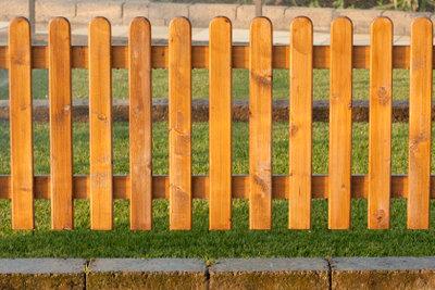 Zäune sorgen für gute Nachbarschaft.