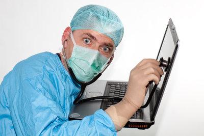 Viren können Sie meist selbst entfernen.