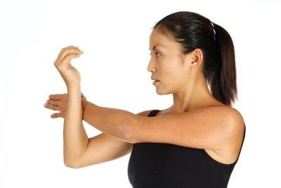 Beweglich trotz Verkalkung der Schulter.