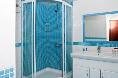 Eine Dusche kann man selbst einbauen.
