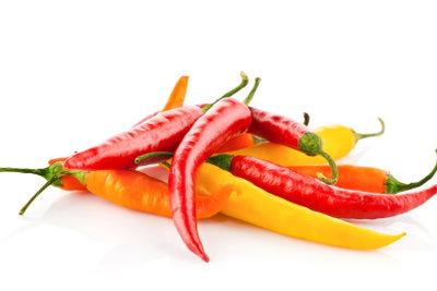 Gerade Chilis variieren in ihrer Schärfe.