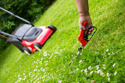 Gepflegte Gartengeräte erzielen schöne Ergebnisse.