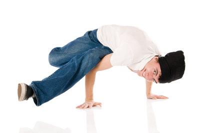 Breakdancen macht auch zu Hause Spaß.