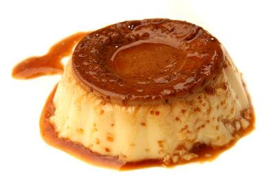 Portugiesische Milchcreme ist lecker und süß.