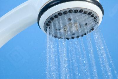 Duschen können Sie mit Gasbetonstein mauern.