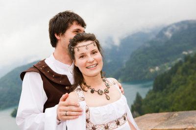 Das Mittelalter ist eine beliebte Kostümvorlage.