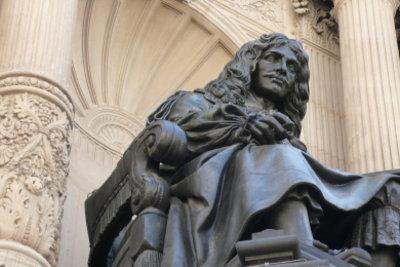 """Molière hat den """"Eingebildeten Kranken"""" geschrieben."""