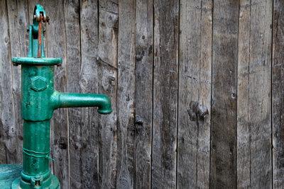 Einen Rammfilter für Brunnen einbauen