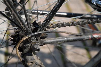 Reinigen Sie das Rad richtig.