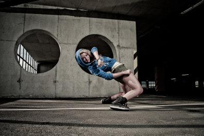 Modern Street Dance ist wahre Akrobatik.