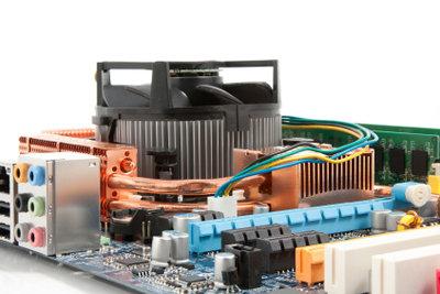 Defekte Spannungswandler legen den PC lahm.