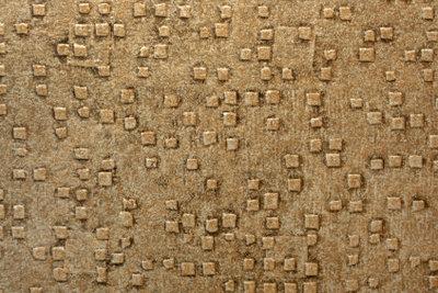 Abwechslungsreiche Muster auf dem PVC-Fußbodenbelag