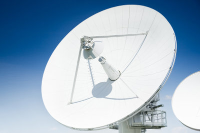 Diese astronomische Antenne ist konkav.