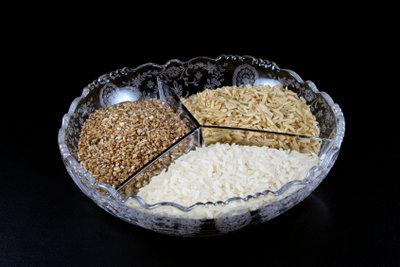 Basmati-Reis gibt's in verschiedenen Sorten.