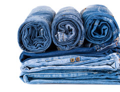 jeans bleichen domestos