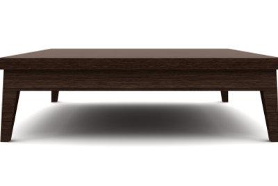 Fertigen Sie Möbel aus Bauholz.