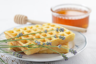 Aromatisieren Sie mit Lavendel Honig.