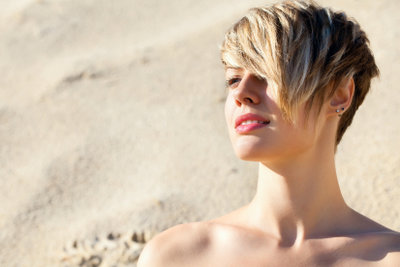 Auch feines Haar kann toll aussehen.