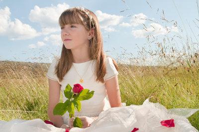 Kinderkommunionen sind für Kinder besondere Tage.