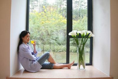 Freuen Sie sich an schönen Fensterfugen.