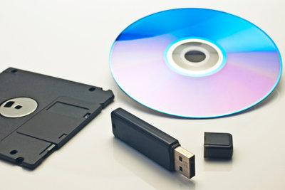 Ein USB-Stick kann schnell formatiert werden.