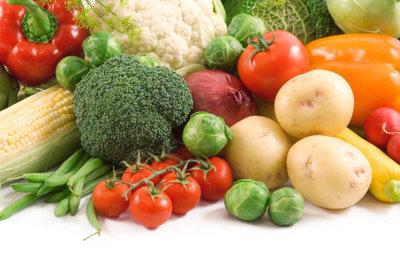 Viele Gemüsesorten haben keine Kohlenhydrate.