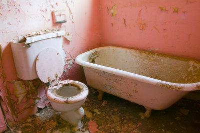 So sollte ein Badezimmer nicht aussehen.