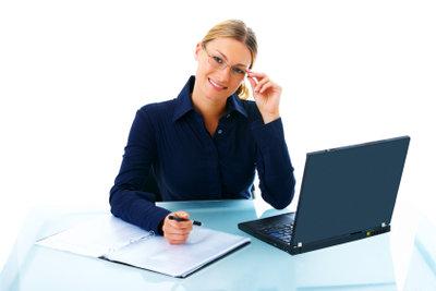Ein Anschreiben sollte sorgfältig erstellt werden.