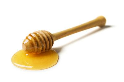 Medizinischen Honig richtig anwenden.