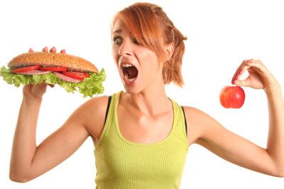 Gemüse ist gegen Heißhunger am besten.