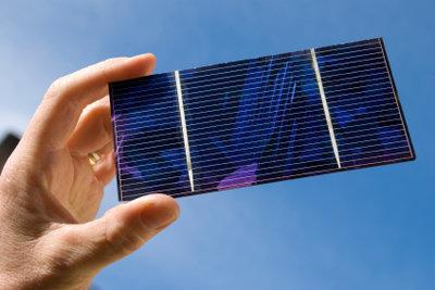 Solarzellen gibt es in vielen Größen.