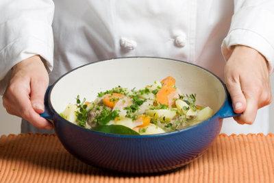 Irish Stew schmeckt auch ohne Fleisch.