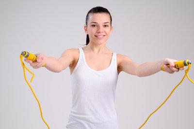 Seilspringen macht Spaß und hält fit.