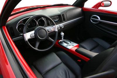 Autositze aus Leder optimal pflegen.
