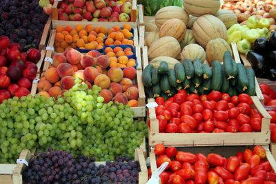 Gemüse ist gesund und kalorienarm.