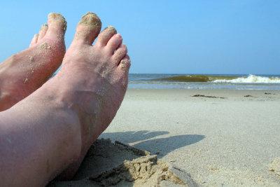 Vermeiden Sie Schrunden durch optimale Fußpflege.