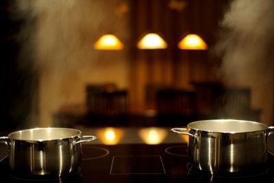 Mit Induktion können Sie komfortabler kochen.