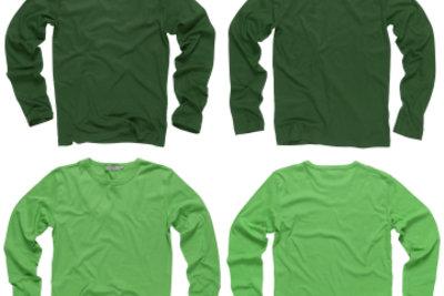 Shirts können Sie mit Transferfolie bedrucken.