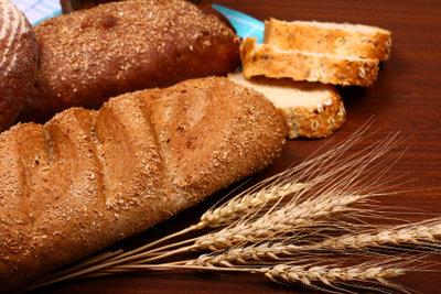 Brot mit knuspriger Kruste.