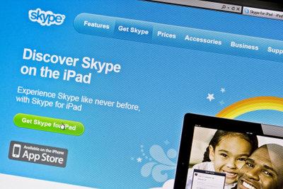 Skype ist eine beliebte Videokonferenzsoftware.