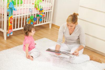 Viele Kinderbetten lassen sich umbauen.