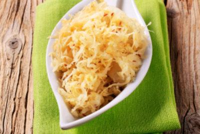 Sauerkraut macht Eisbein bekömmlicher.