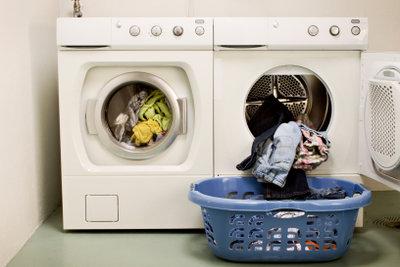 Waschmaschinen sollten gereinigt werden.