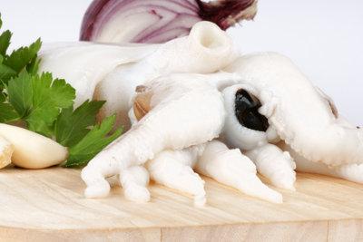 Genießen Sie den mediterranen Tintenfisch!