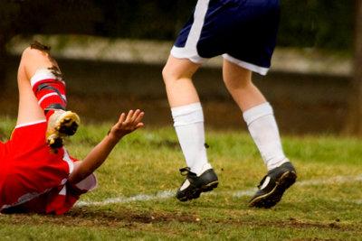 Muskelriss - eine der häufigsten Sportverletzungen.