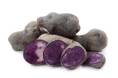 So bereiten Sie blaue Kartoffelchips zu.