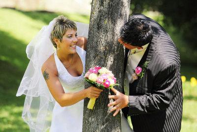 Hochzeitsspiele lockern jede Hochzeitsfeier auf.