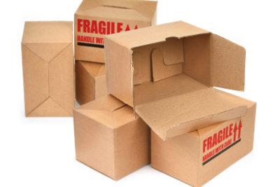 Kartons sind die Gundlage des Autos.